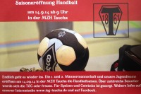 Handball Saisonauftakt am 14.09.2014